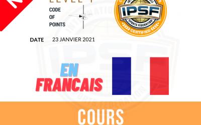 Code de points IPSF disponible en français !