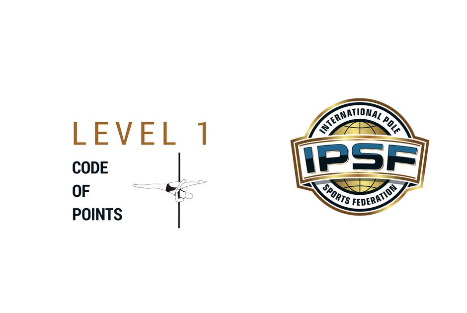 Certificat IPSF Niveau 1 dans les codes de points Pole Sports, Artistic Pole & Ultra Pole